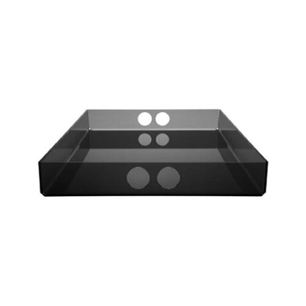 Taca Tray Black, 22x31 cm