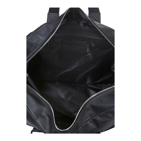 Męska torba skórzana Ferruccio Laconi 101 Black