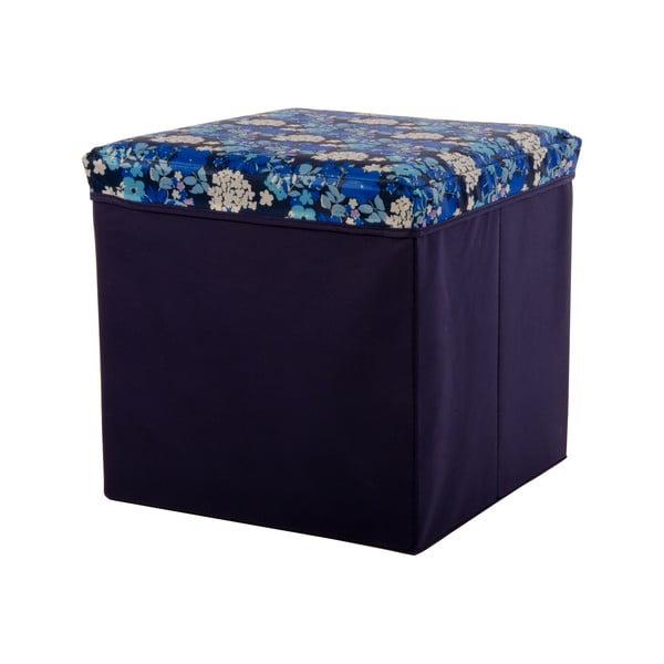Pudło Puff Blue, 38x38 cm