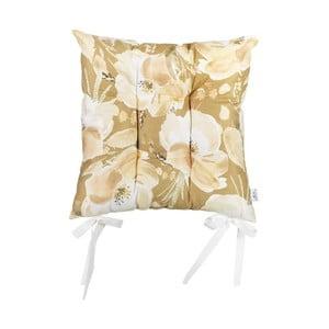 Poduszka na krzesło Apolena Rossie Honey, 37x37 cm