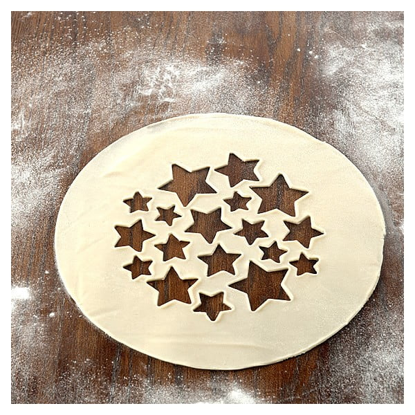 Dwustronna forma do wykrajania Nordic Ware Stars And Cherries