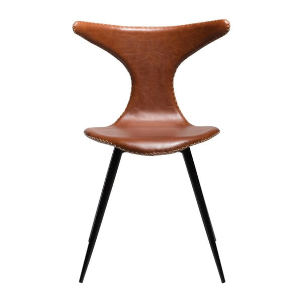Brązowe krzesło DAN-FORM Denmark Dolphine