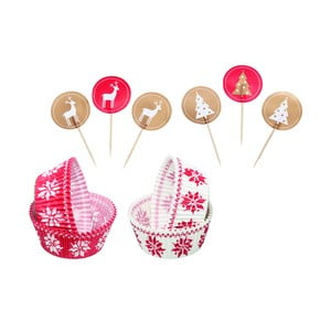 Zestaw do cupcake'ów Merry Little Christmas