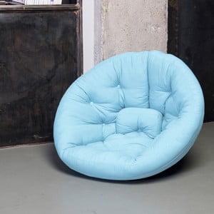 Fotel rozkładany Karup Nest Celeste
