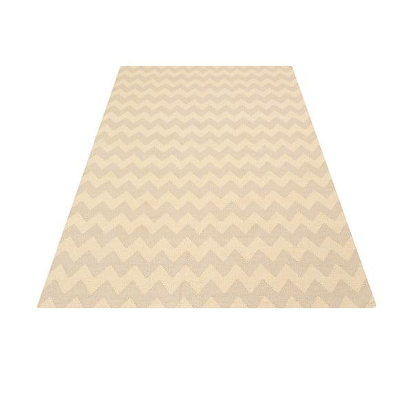 Ręcznie tkany dywan Kilim Aar Sand, 160x230 cm