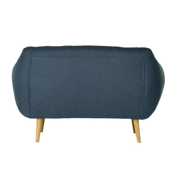 Sofa dwuosobowa Azurre Sawana Dark Blue
