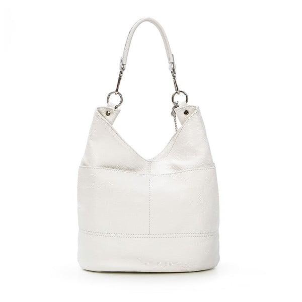 Skórzana torebka Guido, biała