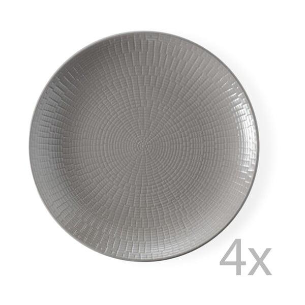 Zestaw 4 talerzyków deserowych Granaglie Tourte, 21 cm