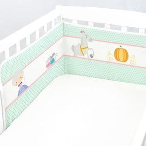 Ochraniacz do łóżeczka Pumpkin, 70x70x70 cm