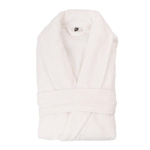 Biały szlafrok unisex z czystej bawełny Casa Di Bassi, XL/XXL