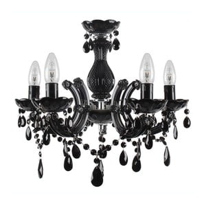 Żyrandol Pendant Lamp In Black, 45x46 cm