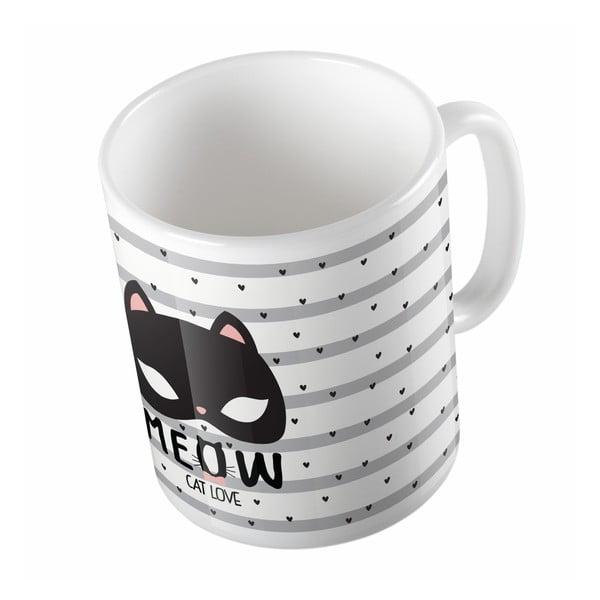 Ceramiczny kubek Cat Love, 330 ml