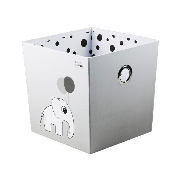 Pudełko Happy Dots, szare