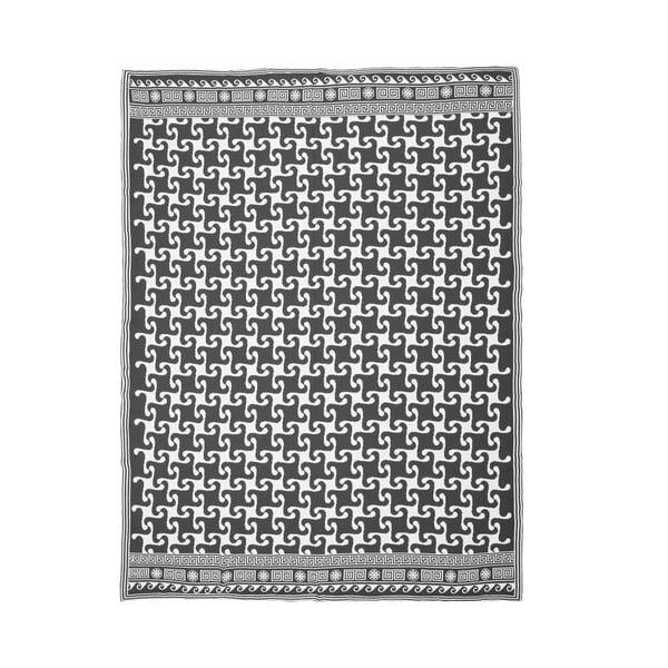 Pleciony koc Trebett 10, 130x170 cm