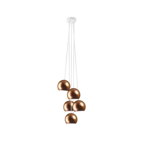 Lampa 5-częściowa MYOO Elementary, copper/white/white