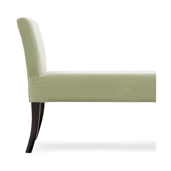 Jasnozielona ławka Vivonita Selma