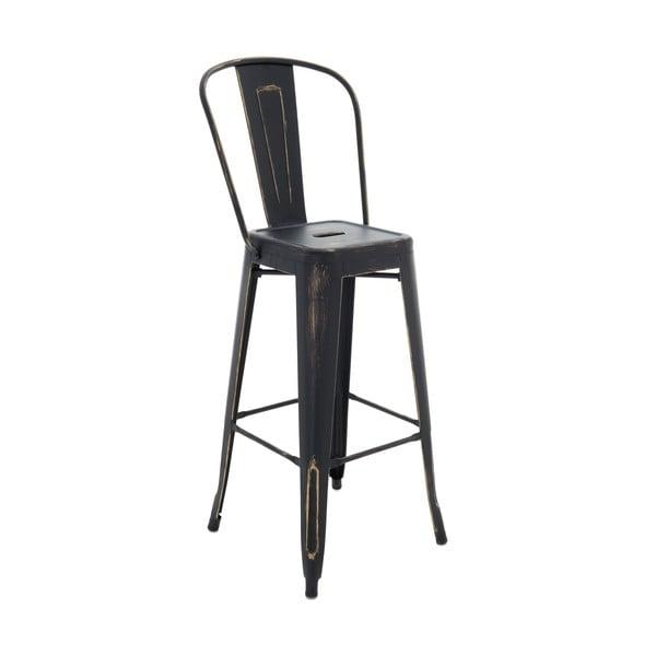 Krzesło InArt Antique, czarne, 115 cm