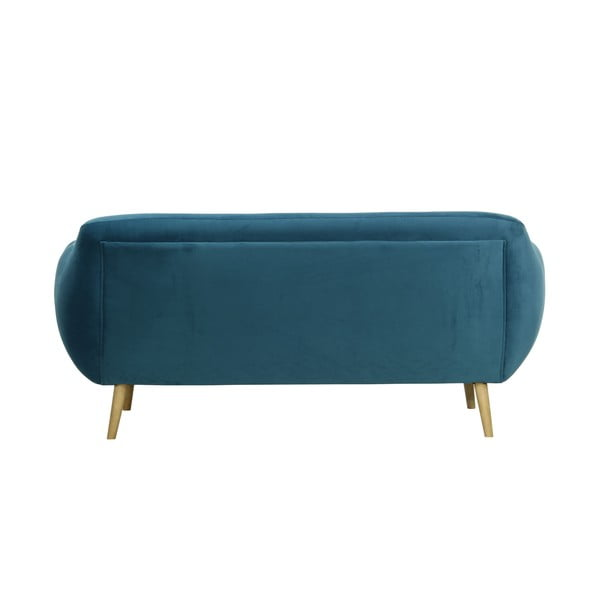 Granatowa   sofa trzyosobowa Indigo Wintech Indigo Victoria