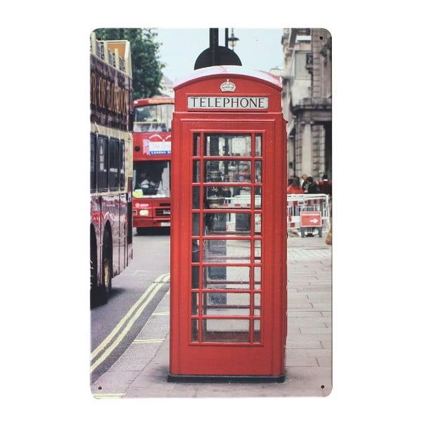 Tablica London Kiosk, 20x30 cm