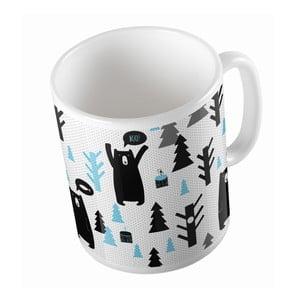 Ceramiczny kubek Bears in Forest, 330 ml