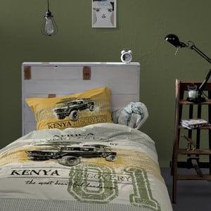 Pościel Kenia Khaki, 140x200 cm