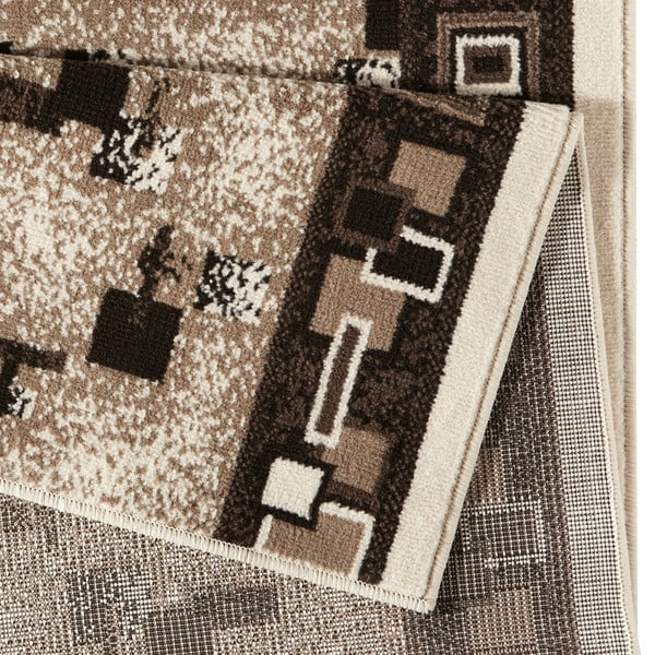 Dywan Basic Retro, 80x400 cm, kremowy