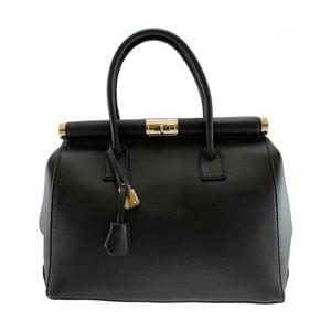 Czarna skórzana torba Blair