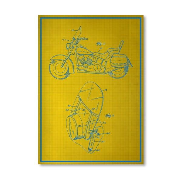 Plakat Motorcycle, 30x42 cm