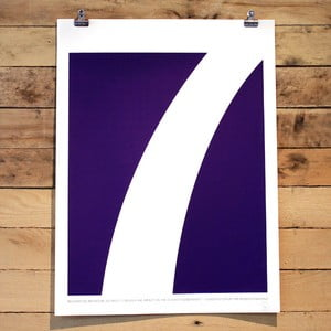 Plakat Seven Quote, 61x46 cm