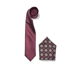 Zestaw krawata i poszetki Ferruccio Laconi 2