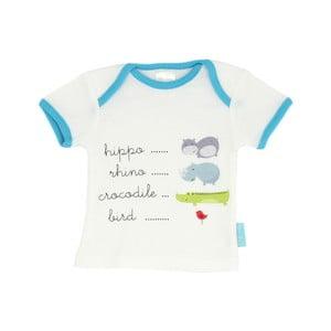 Dziecięca koszulka z krótkim rękawem Hippo, 24-36 miesięcy