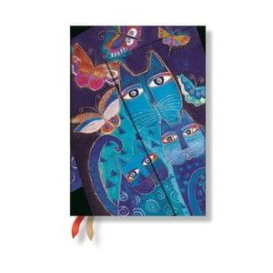Organizer 2015 Blue Cats&Butterflies 13x8 cm
