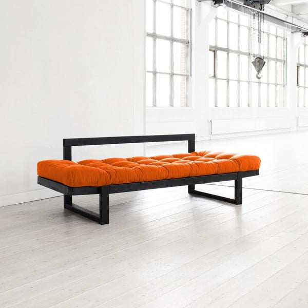Sofa Karup Edge Black/Orange