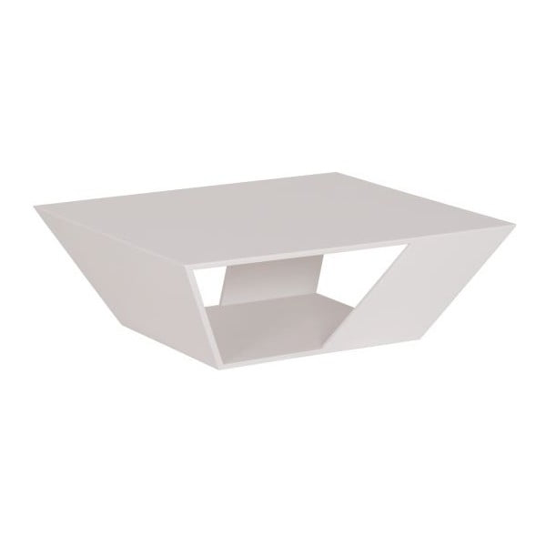 Stolik do ogrodu Gem White, 75x75 cm