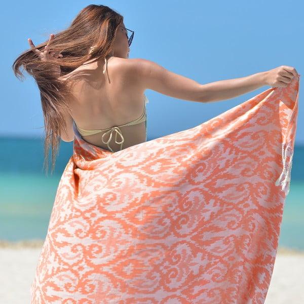 Ręcznik hammam Legacy, pomarańczowy