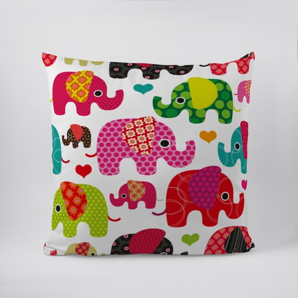 Poduszka Lovely Elephant Love