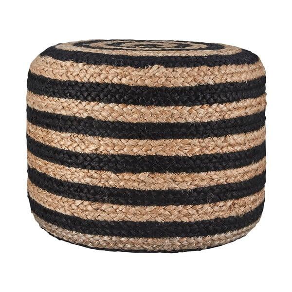 Puf Hemp Striped