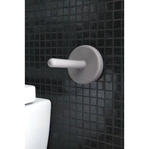 Samoprzylepny stojak na papier toaletowy Portaro Light Grey