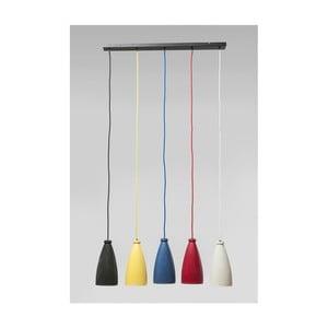 Lampa wisząca z 5 kloszami Kare Design Art Colore