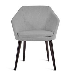 Szare krzesło Charlie Pommier S