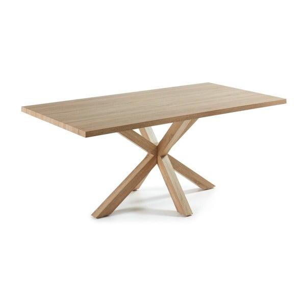 Stół do jadalni Arya, 200x100cm, drewniane nogi