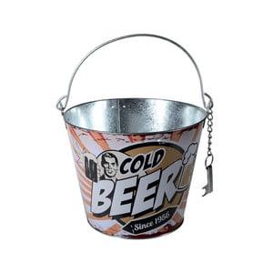 Kubełek do chłodzenia napojów z otwieraczem Beer
