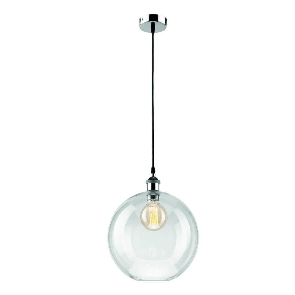 Szklana lampa wisząca Lamkur Ball
