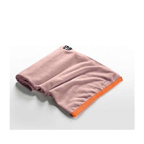 Ręcznik plażowy Agi Moe 80x160 cm, koralowy