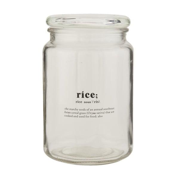 Szklany słój Clayre & Eef Clayre Rice