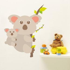 Naklejka Koala z mamą, 70x50 cm