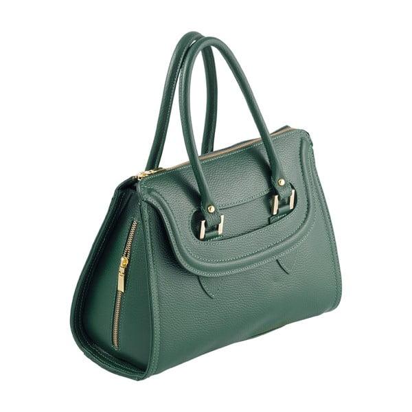 Skórzana torebka Andrea Cardone 946 Green