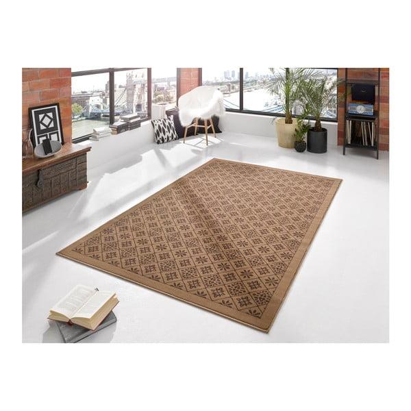 Brązowy dywan Hanse Home Gloria Tile, 120x170 cm