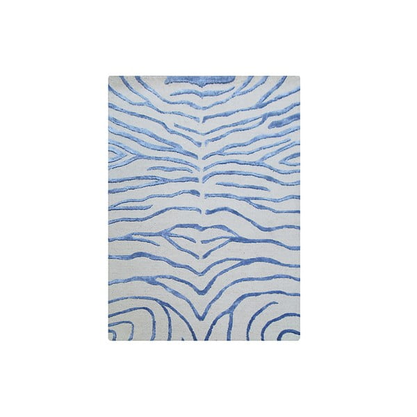 Dywan Zebra Light Blue, 153x244 cm