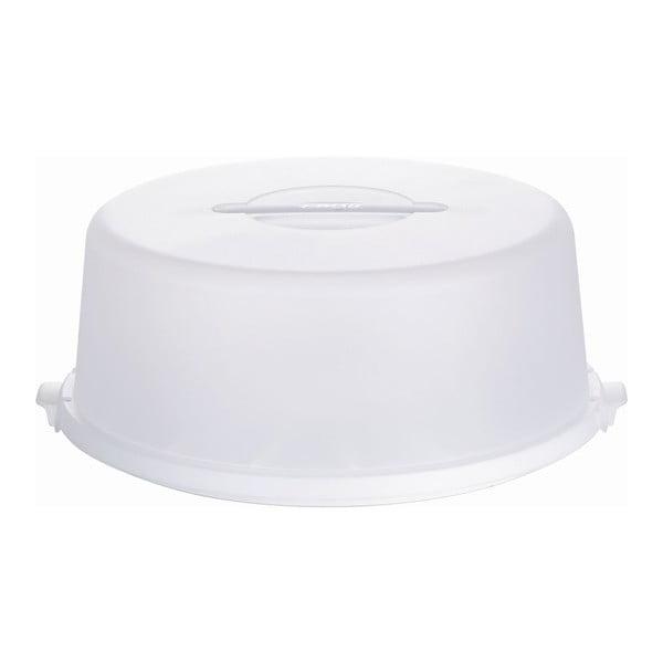 Pojemnik na tort Basic White, 33x33 cm